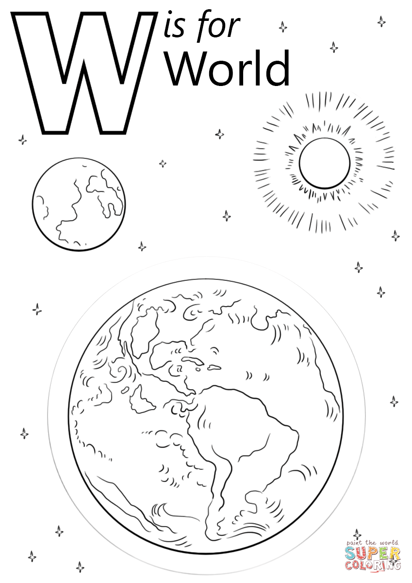 w is for worm coloring page top 10 letter w39 coloring pages your toddler will love to is for page worm coloring w
