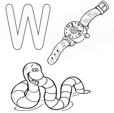 w is for worm coloring page w is for worm coloring page free printable coloring pages for page worm w is coloring