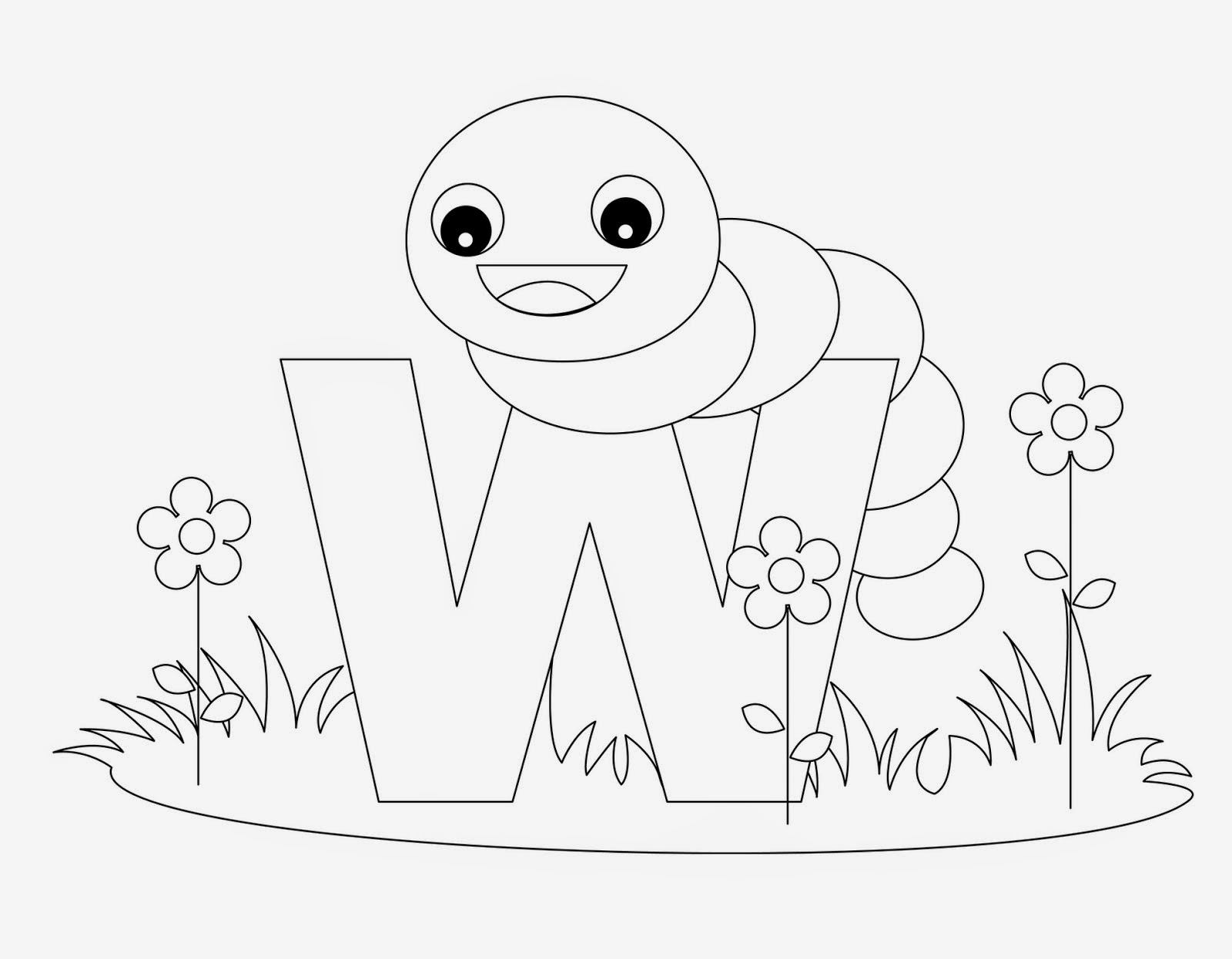 w is for worm coloring page w worm alphabet coloring pages coloring book is coloring w page worm for
