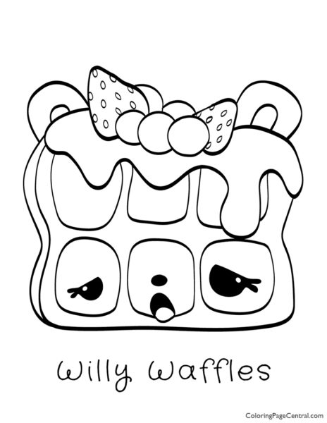 waffle coloring page activity and coloring pages waffle smash chicken waffles page coloring waffle