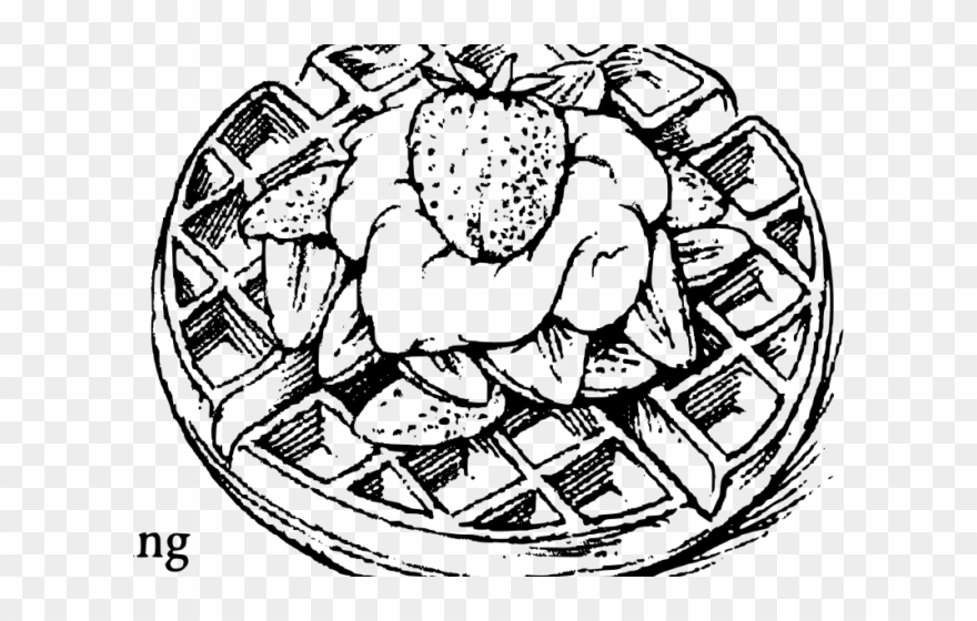 waffle coloring page don39t eat the paste flower waffle coloring page page waffle coloring