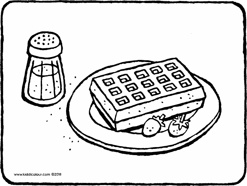 waffle coloring page waffle black and white clipart 10 free cliparts download waffle coloring page