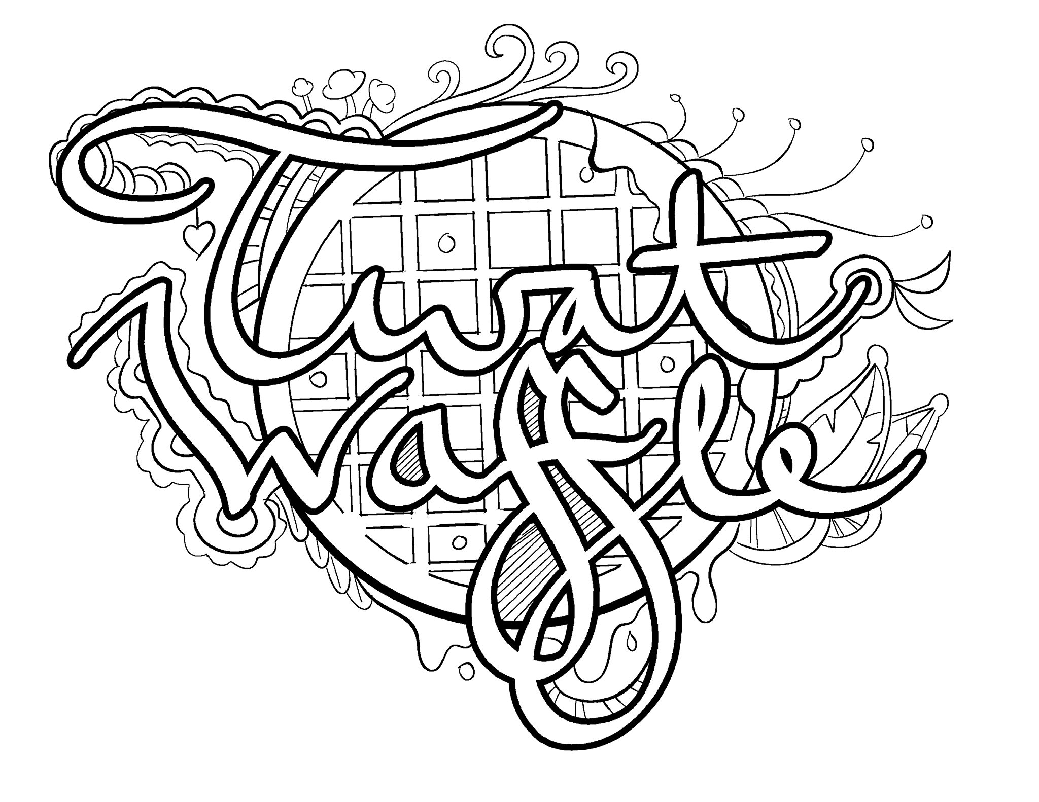 waffle coloring page waffle colouring pages sketch coloring page page coloring waffle