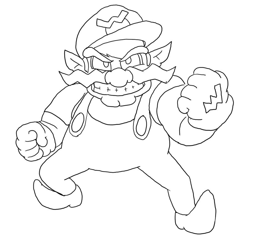 wario pictures to color wario coloring pages coloring home pictures color to wario