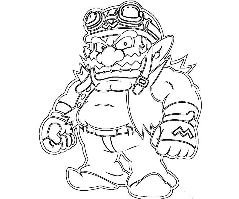 wario pictures to color wario free coloring pages wario color pictures to