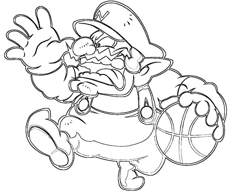 wario pictures to color wario lineart by xero j on deviantart pictures wario color to
