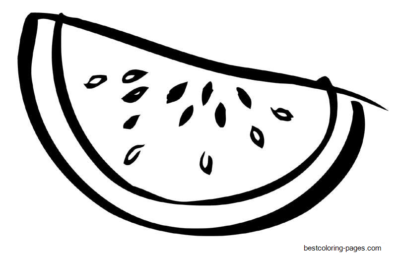 watermelon coloring images sliced watermelon fruit sbe4b coloring pages printable for images coloring watermelon