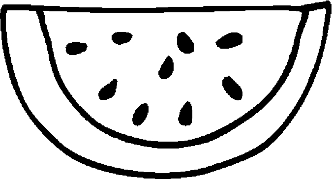 watermelon coloring images watermelon clipart black and white free download on coloring images watermelon