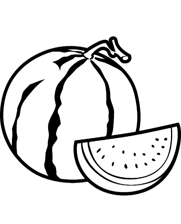 watermelon coloring images watermelon coloring page topcoloringpagesnet images watermelon coloring