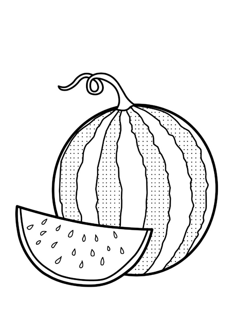 watermelon coloring images watermelon coloring pages to download and print for free watermelon images coloring