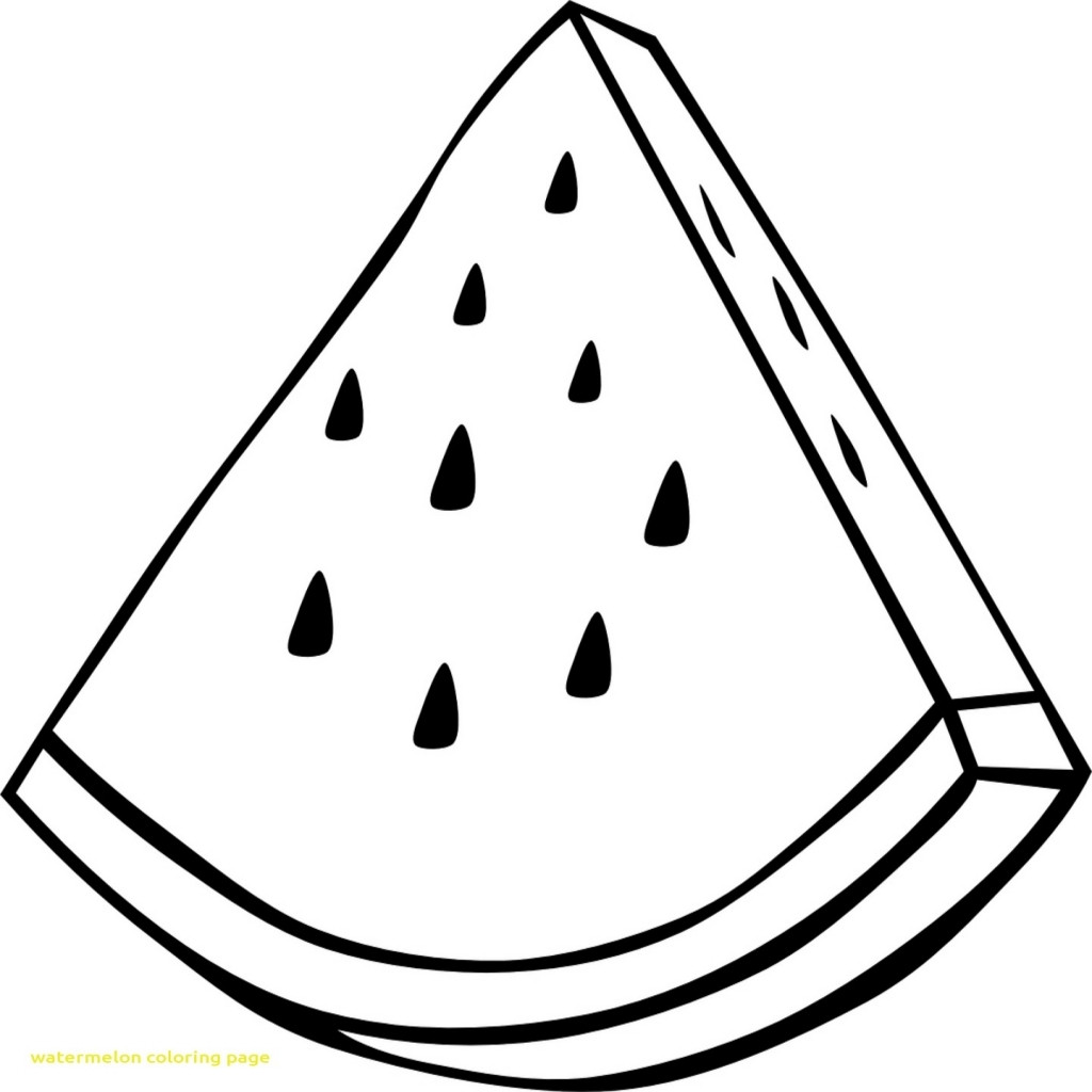 watermelon coloring template watermelon slice coloring page drawing transparent png template coloring watermelon