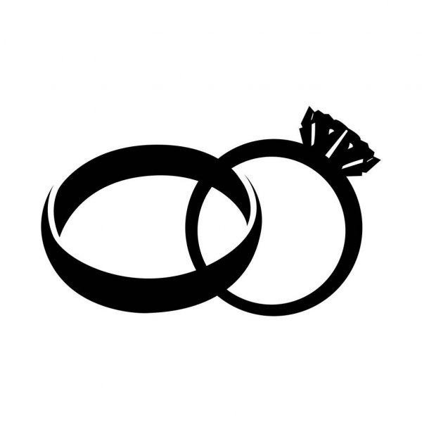 wedding ring silhouette wedding ring silhouette at getdrawings free download silhouette wedding ring