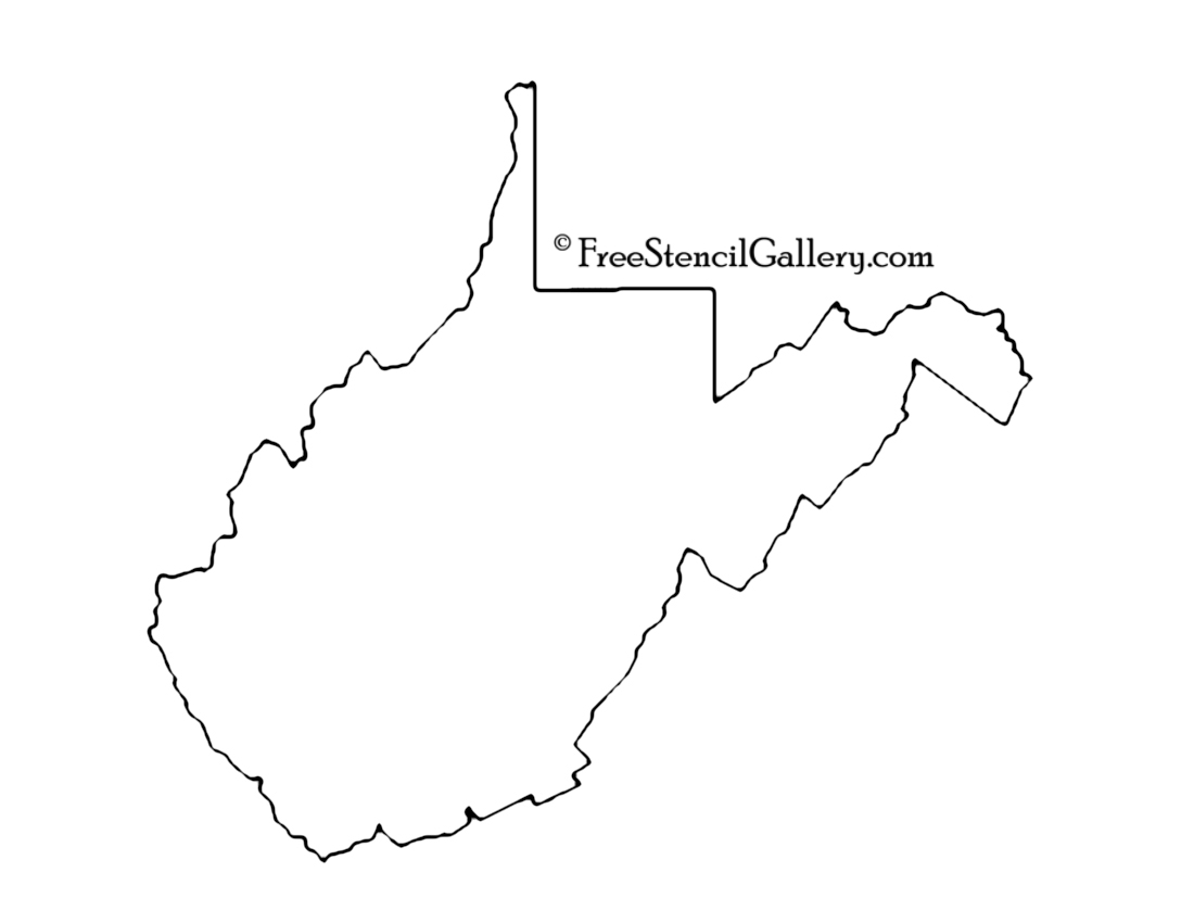 west virginia state outline pin by tracee stewart on stencils stencils west virginia state west outline