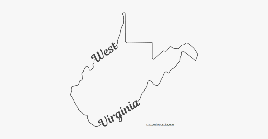 west virginia state outline west virginia state map outline hd png download vhv virginia west state outline