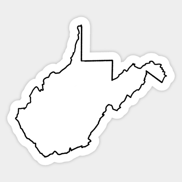 west virginia state outline west virginia state scroll saw pattern outline clip west state west virginia outline