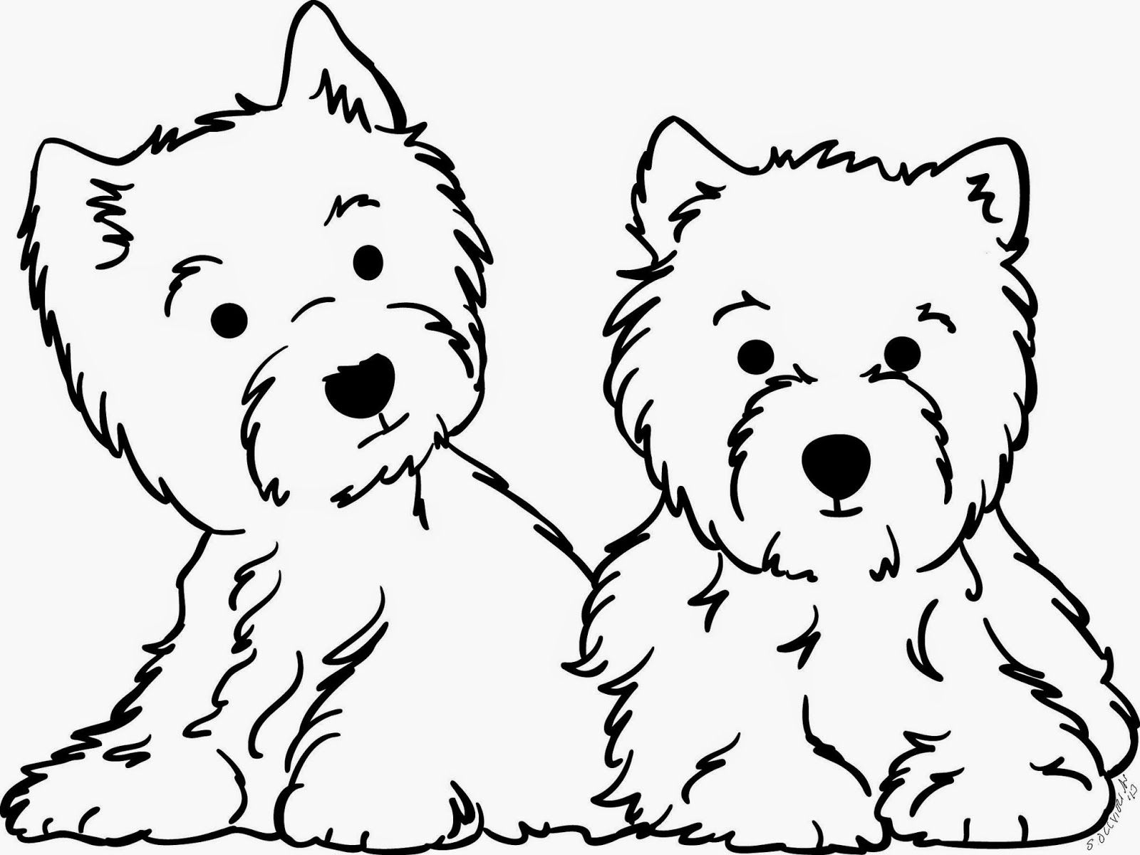 westie coloring pages west highland terrier coloring pages west highland white pages westie coloring