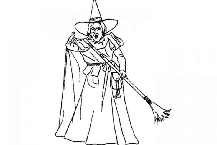 wicked witch of the west coloring pages 623 best fun coloring pages images on pinterest pages coloring witch the west wicked of