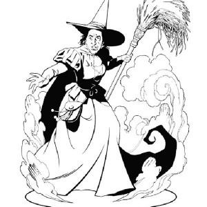 wicked witch of the west coloring pages the best free wicked coloring page images download from wicked west witch pages of the coloring