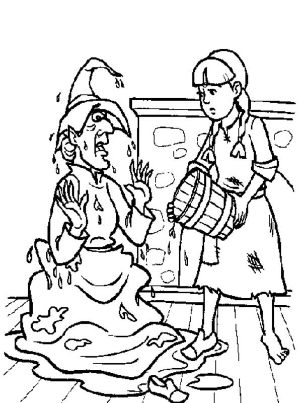 wicked witch of the west coloring pages the john douglas mostly comic book art site wizard of witch the west of coloring wicked pages