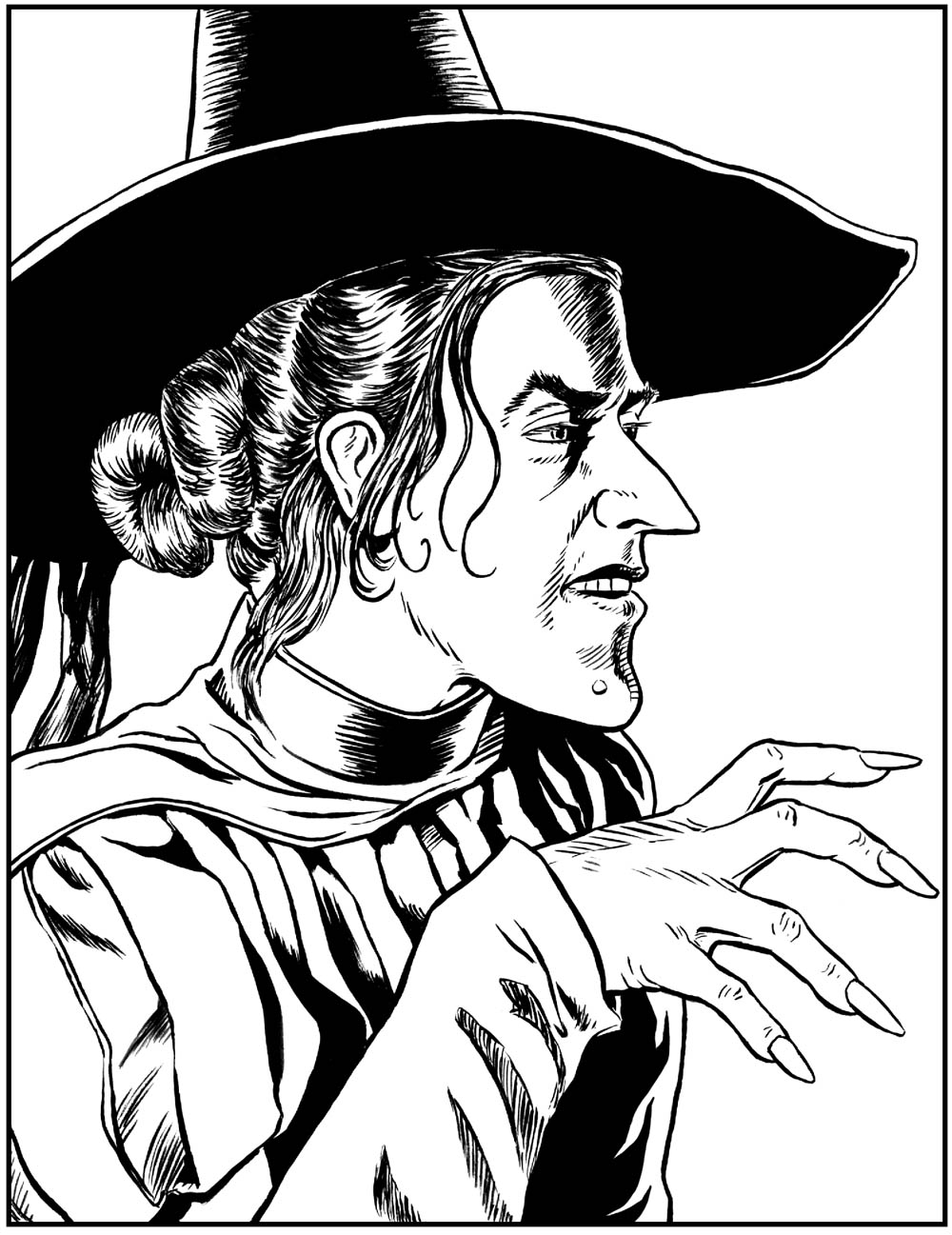 wicked witch of the west coloring pages wicked witch of the west pages coloring pages witch the of wicked west coloring pages