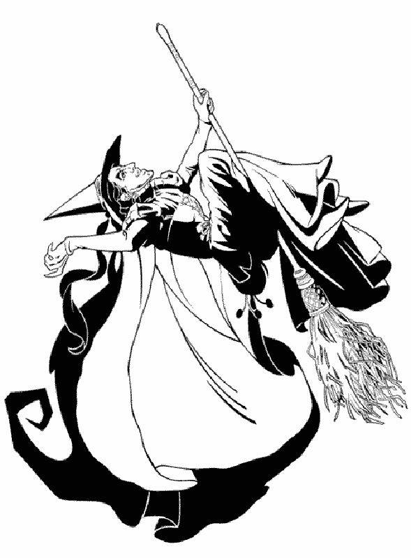 wicked witch of the west coloring pages wizard of oz coloring pages 19 arts and crafts coloring witch west pages the of wicked