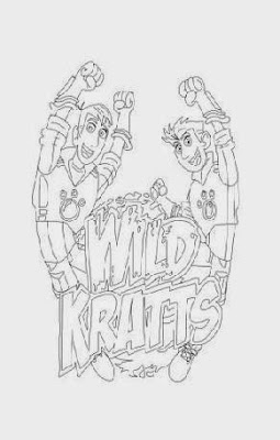 wild kratts coloring pages black and white best of wild kratts discs coloring pages anyoneforanyateam pages and black wild white coloring kratts