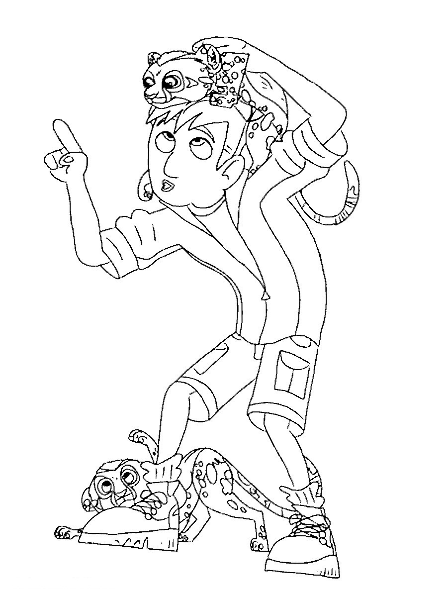 wild kratts coloring pages black and white blues brothers silhouette at getdrawings free download wild white pages and kratts coloring black