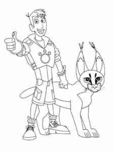 wild kratts coloring pages black and white koki wild kratts coloring pages pages kratts wild coloring white and black