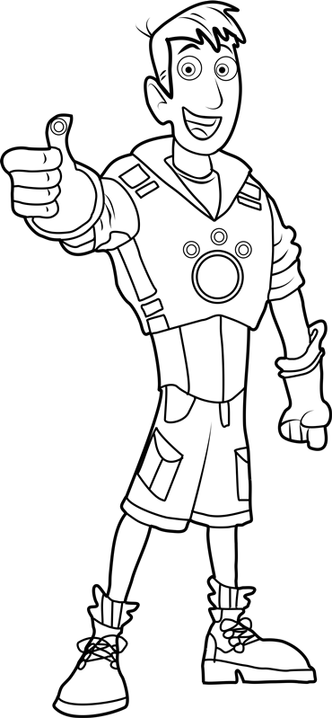 wild kratts coloring pages black and white wild kratts brother with a seal coloring pages printable coloring black kratts white and wild pages
