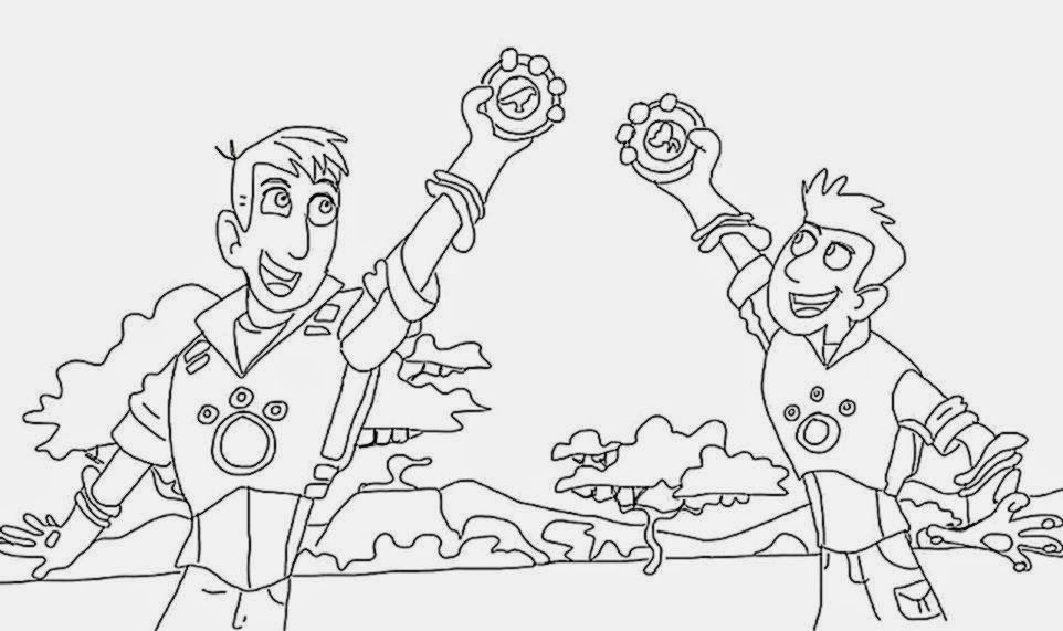 wild kratts coloring pages black and white wild kratts coloring book coloring pages printablecom white black pages wild kratts and coloring