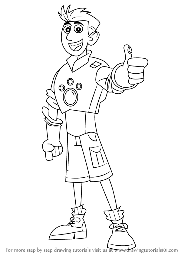 wild kratts coloring pages black and white wild kratts coloring pages clip art library wild coloring kratts and white pages black