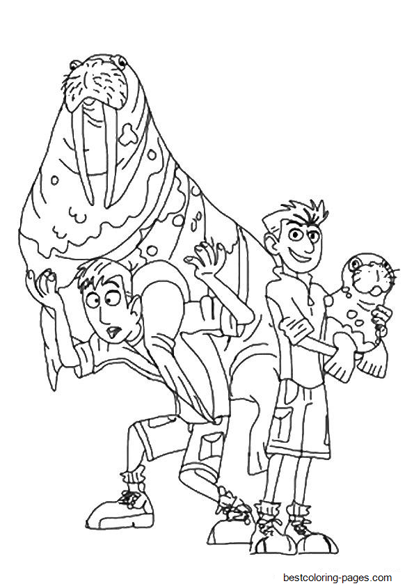 wild kratts coloring pages black and white wild kratts coloring sheet chris clip art library and kratts white wild pages coloring black