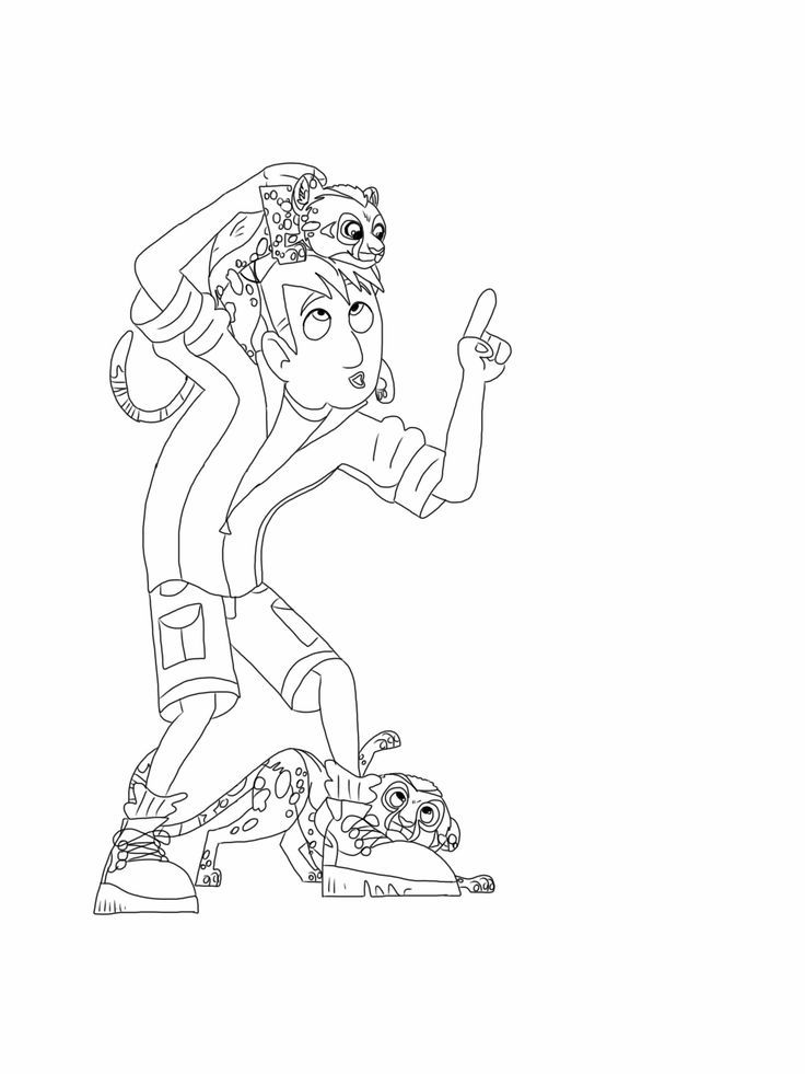 wild kratts coloring pages black and white wild kratts the in underwater expedition coloring pages pages white black coloring wild kratts and