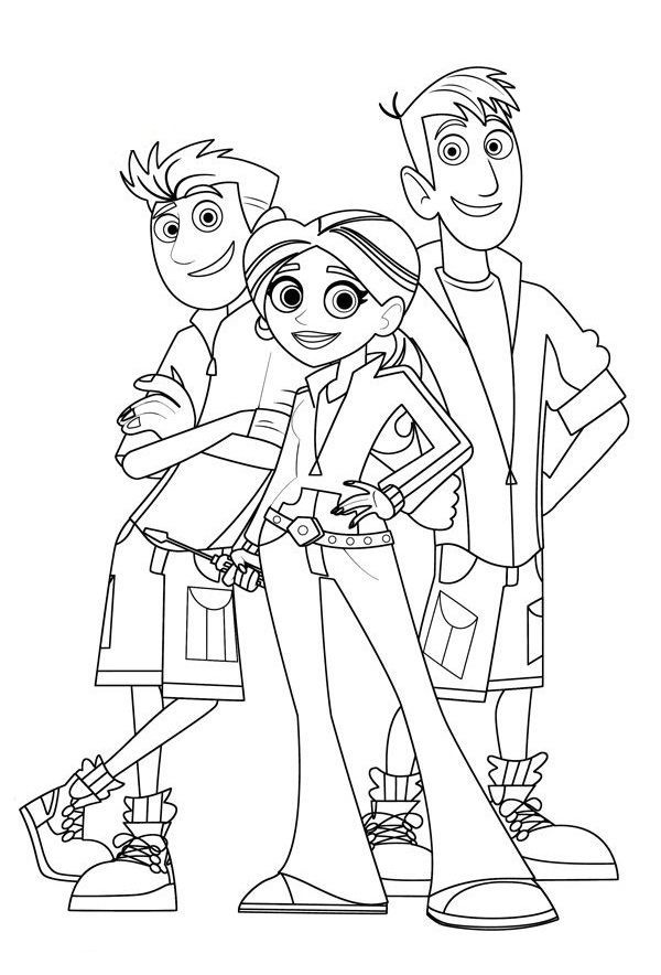 wild kratts printable coloring pages wild kratts coloring pages best coloring pages for kids wild printable pages coloring kratts