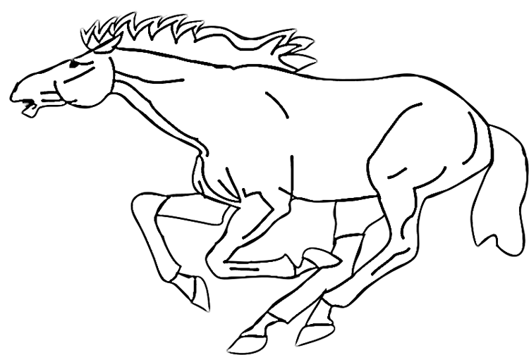 wild mustang coloring pages dibujos para colorear caballo frison eshellokidscom mustang wild pages coloring