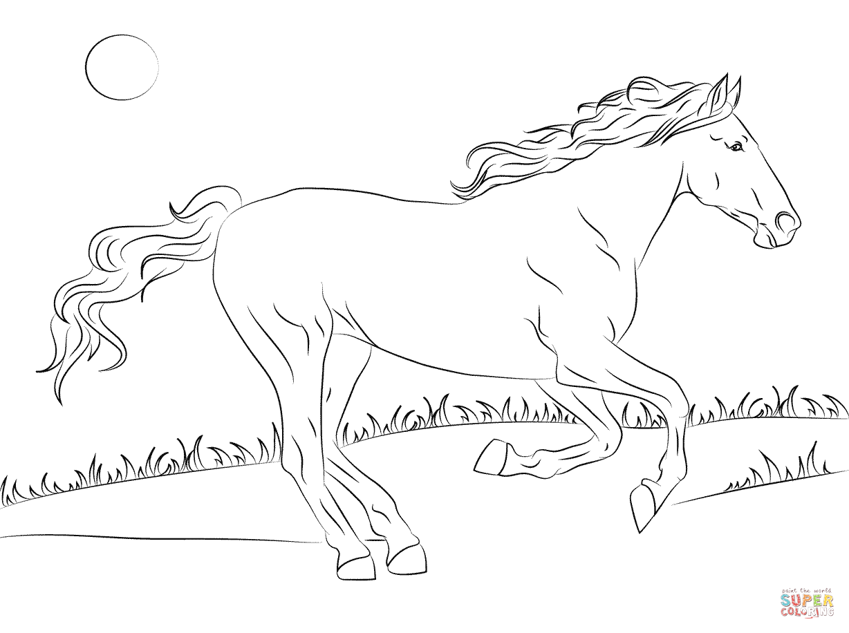 wild mustang coloring pages mustang horse coloring pages at getcoloringscom free pages mustang coloring wild
