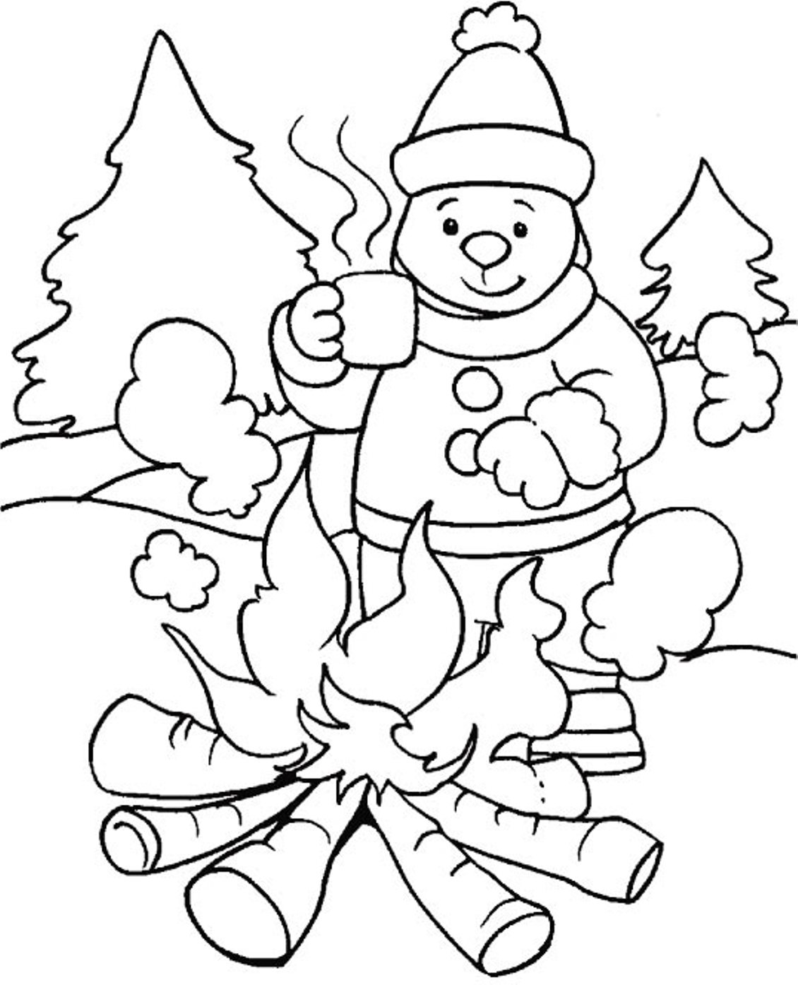 winter animal coloring pages squirrel preparing for winter super coloring with animal coloring winter pages
