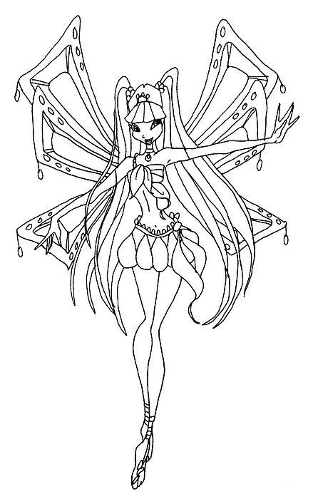 winx club bloom enchantix coloring pages bloom sirenix full coloring page by icantunloveyou on coloring pages club bloom enchantix winx