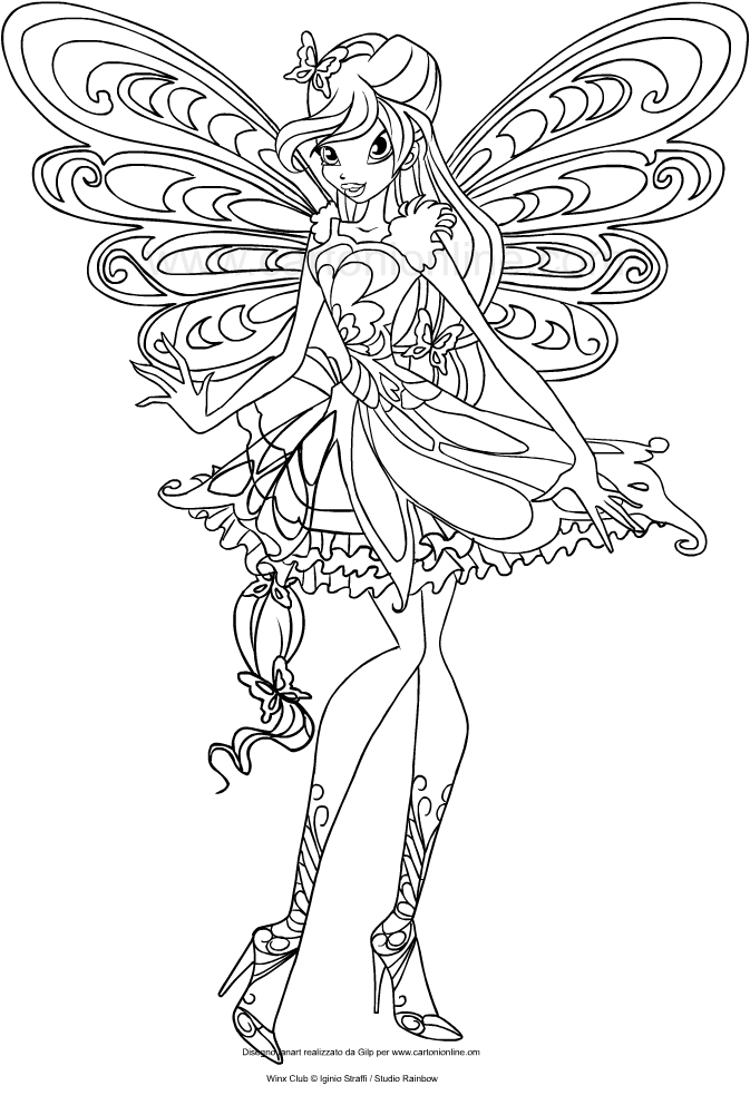 winx club bloom enchantix coloring pages winx club flora coloring page google search colorful bloom winx enchantix club coloring pages