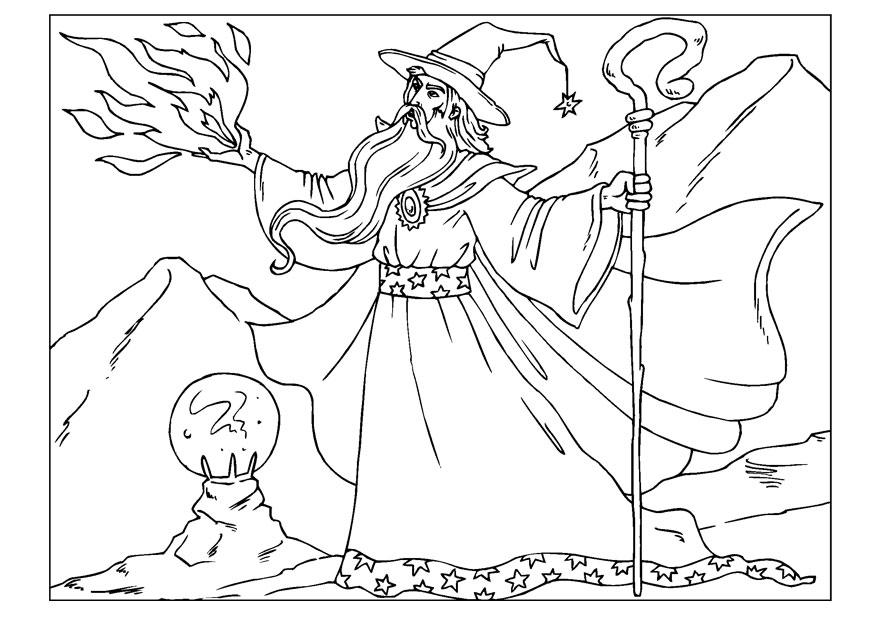 wizard coloring pages colouring in printables for kids just for fun brisbane wizard pages coloring