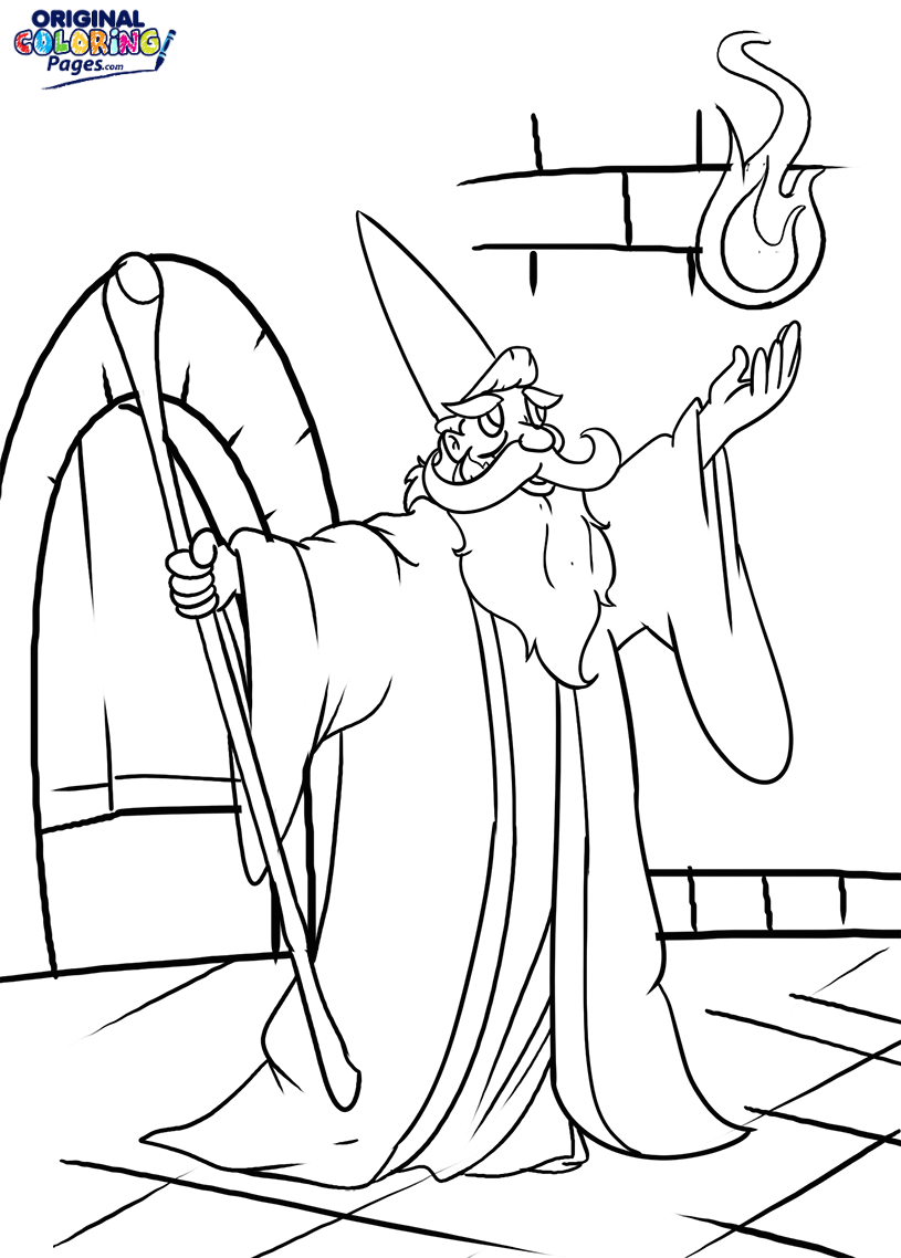wizard coloring pages wizard coloring pages at getcoloringscom free printable pages coloring wizard