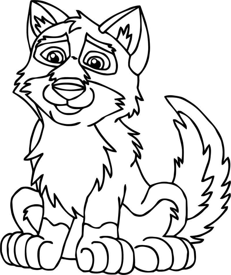 wolf puppy coloring pages puppy balto wolf coloring page wolf puppy pages coloring