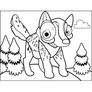wolf puppy coloring pages spotted wolf pup coloring page puppy coloring pages wolf
