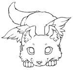 wolf puppy coloring pages three wolf pups lineart by firewolf anime on deviantart puppy pages coloring wolf
