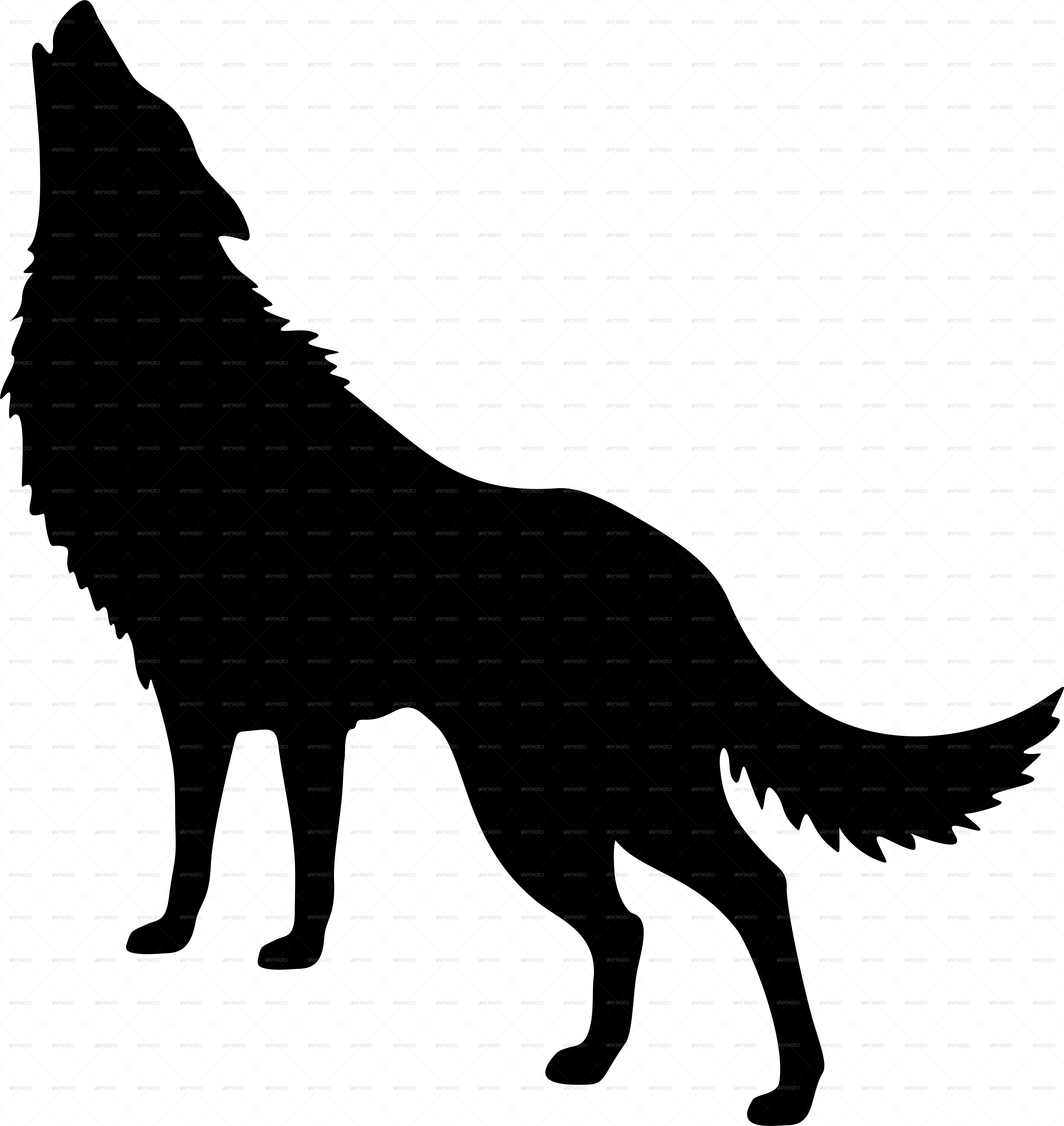 wolf silhouettes howling wolf silhouette and full moon vector free download silhouettes wolf