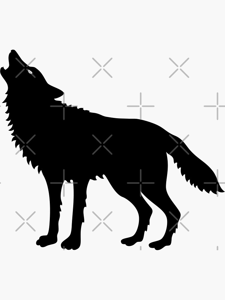 wolf silhouettes silhouette wolf howling at getdrawings free download wolf silhouettes