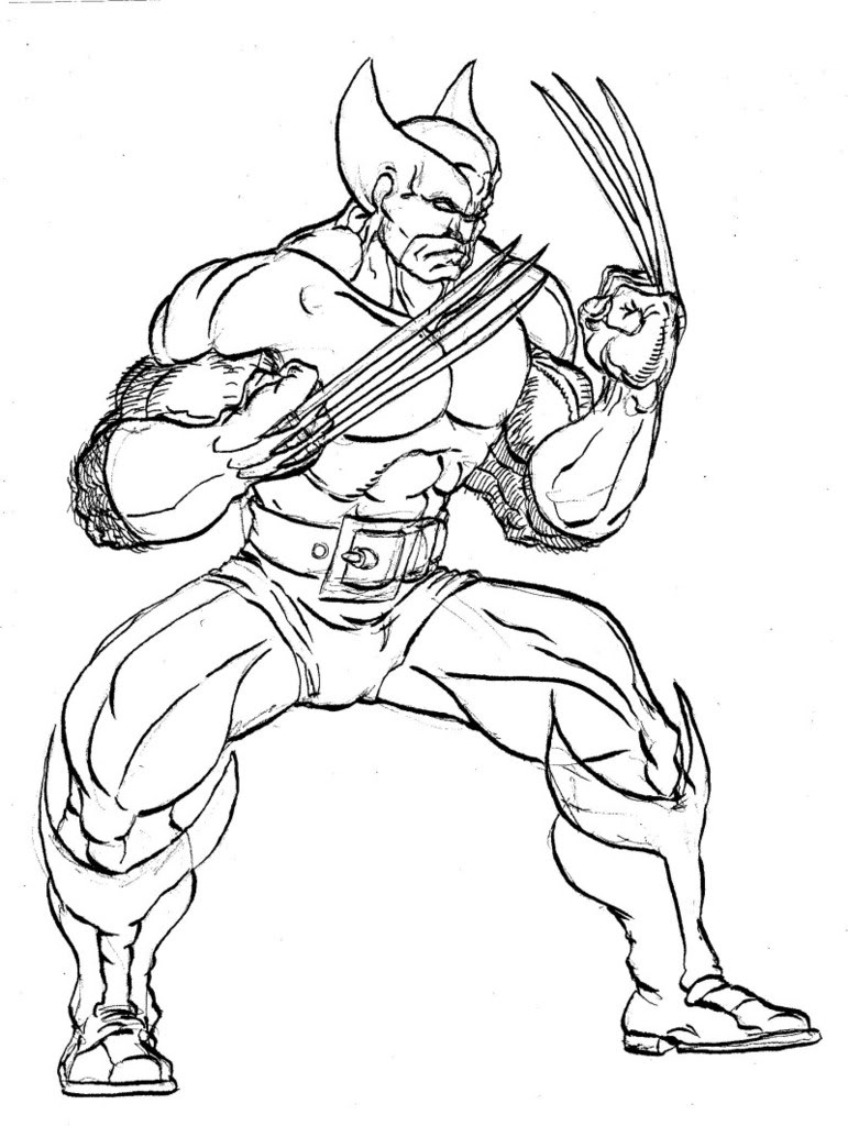 wolverine coloring coloring pages wolverine coloring home coloring wolverine