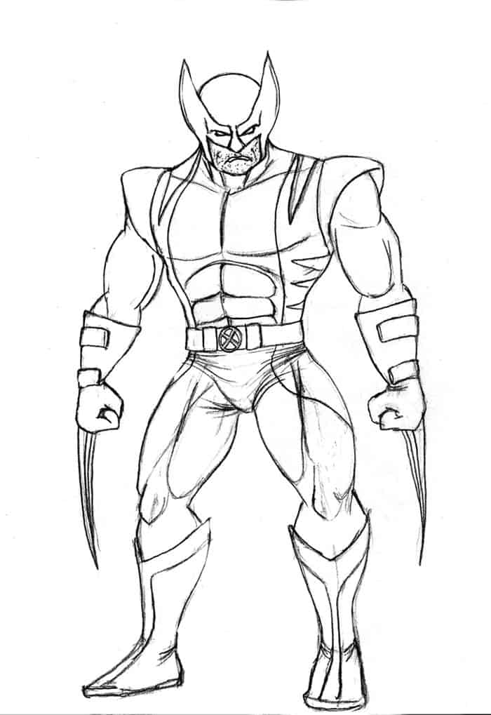 wolverine coloring printable wolverine coloring pages for kids wolverine coloring