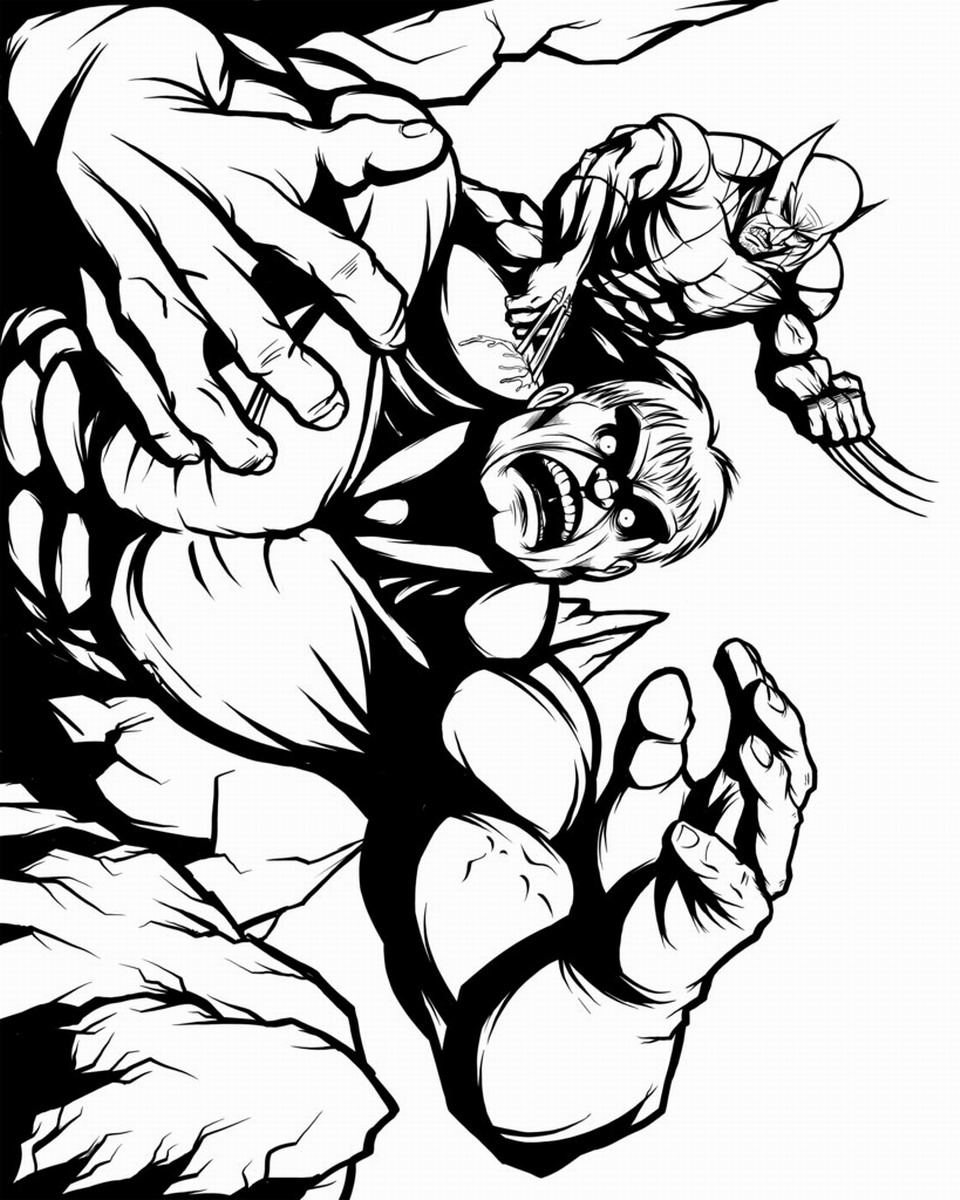 wolverine coloring printable wolverine coloring pages wolverine coloring