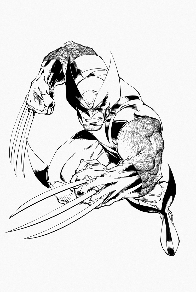 wolverine coloring sheet coloring pages for kids free images wolverine logan free sheet wolverine coloring